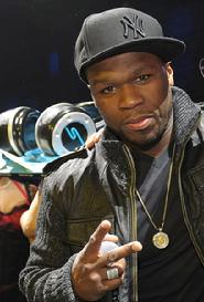50 Cent  Releases a book, movie and album in one yea